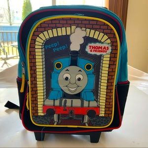 Thomas The Tank rolling Backpack